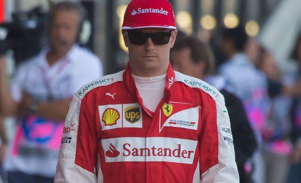 Kimi Räikkönen myönsi munanneensa.