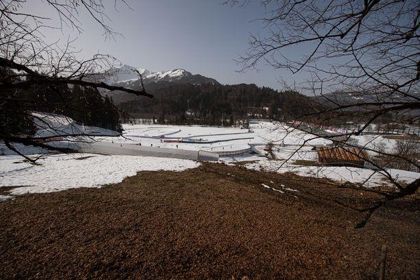 Kevät yllätti hiihtokansan Saksassa.