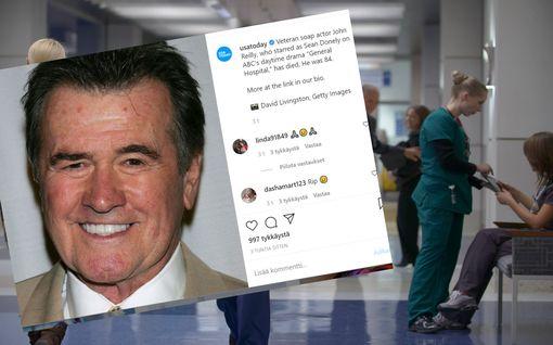 General Hospital -näyttelijä John Reilly on kuollut – muistetaan myös Beverly Hills 90210 -Kellyn isänä