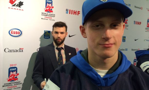 Juuso Välimäki oli tyytyväinen Suomen otteisiin MM-turnauksen viimeisissä otteluissa.