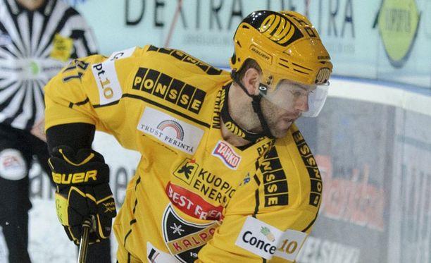 Ryan Lannon loukkaantui Helsingissä.