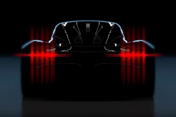 Tämän verran kuvaa on näytetty uudesta superautosta.
