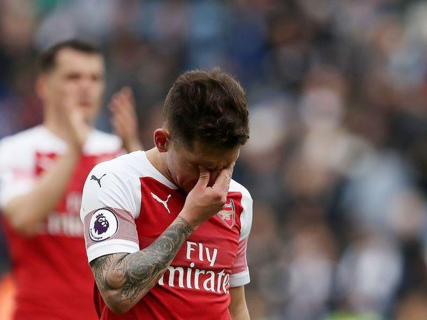 Lucas Torreiran ilme kertoo kaiken oleellisen Arsenalin esityksestä.