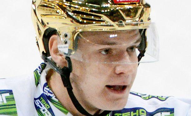 Aleksander Barkov junior edustaa Tapparaa.