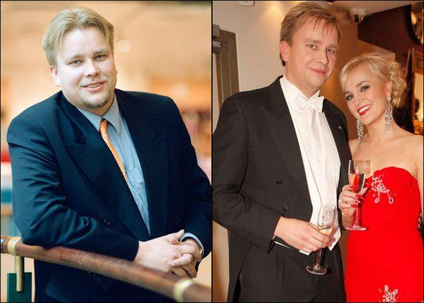 ANTTI KAIKKONEN VUOSINA 2001 JA 2009.