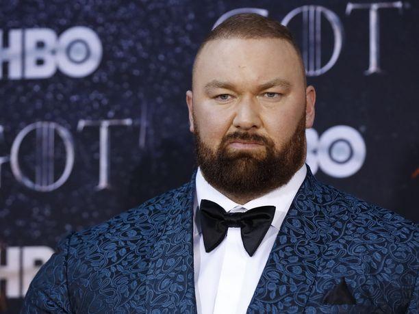 Hafþór Júlíus Björnssonin on nykyään huomattavasti paremmassa kunnossa kuin tässä kuvassa, joka otettiin vuonna 2019.