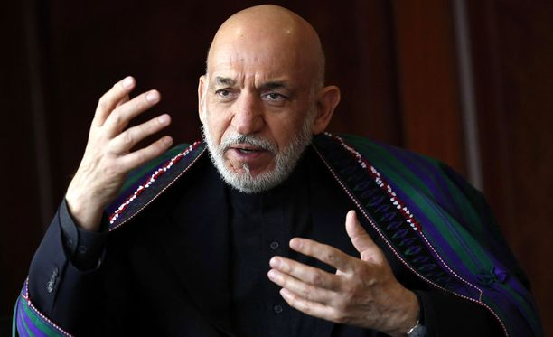 Afganistanin ex-presidentti Karzai on nykyhallinnon kiivas vastustaja.