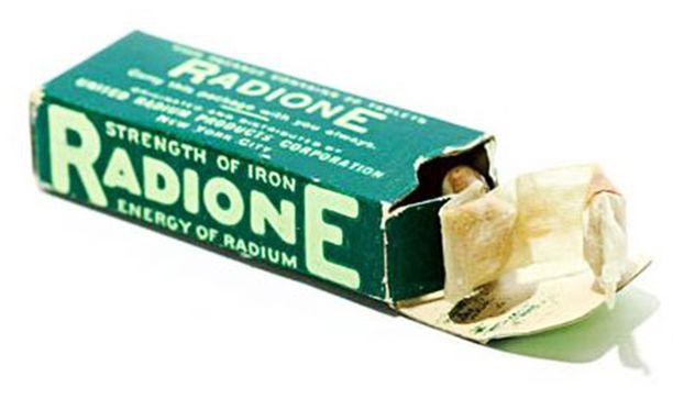 Radioaktiiviset peräpuikot tuovat teräksen vahvuuden.