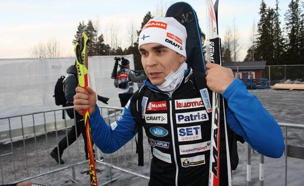 Ahti Toivasella oli sihti hukassa sunnuntaina Ruotsissa.