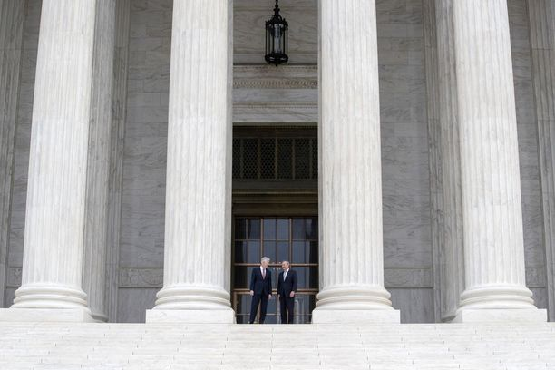 Yhdysvaltain korkein oikeus Washingtonissa.