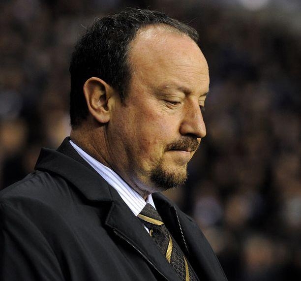 Rafael Benitezin kausi Liverpoolin peräsimessä on ollut tuskainen.
