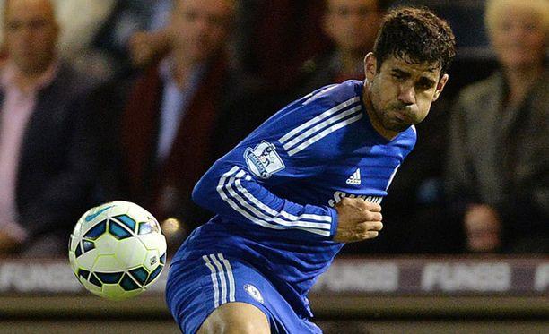 Uusi värväys Diego Costa osui 17 minuutissa.