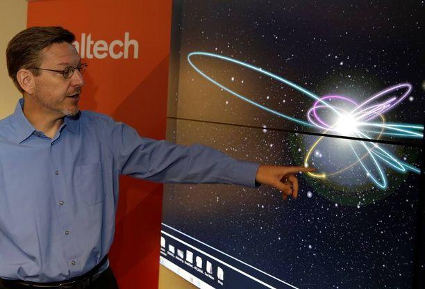 Michael Brown löysi kääpiöplaneetta Erisin ja sai liikanimen plutontappaja.