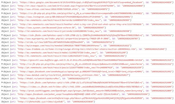 Satunnaisesti sarjanumeroita kokeileva koodinpätkä tuotti nopeasti valtavan määrän tuntemattomien käyttäjien jakamia linkkejä.