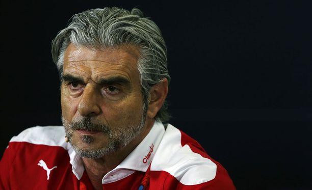Maurizio Arrivabene myönsi Ferrarin töpeksinnän.