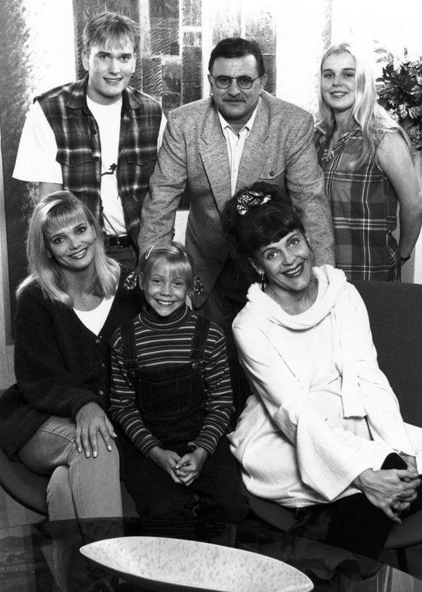Blondi tuli taloon oli todella suosittu tv-sarja 90-luvulla.