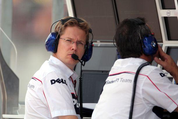 F1-insinööri Ossi Oikarinen auttoi muun muassa BMW Sauberia hankkimaan menestystä. Kuva vuodelta 2007.