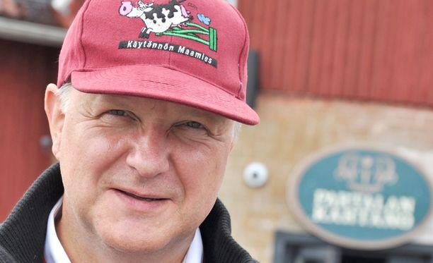 Olli Rehn oli mukana Juvalla elokuun lopussa järjestetyssä tryffelijahdissa.
