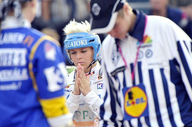 Saloranta voitti Lapuan Virkiässä viisi Suomen mestaruutta, yhden hopean ja kaksi pronssia.