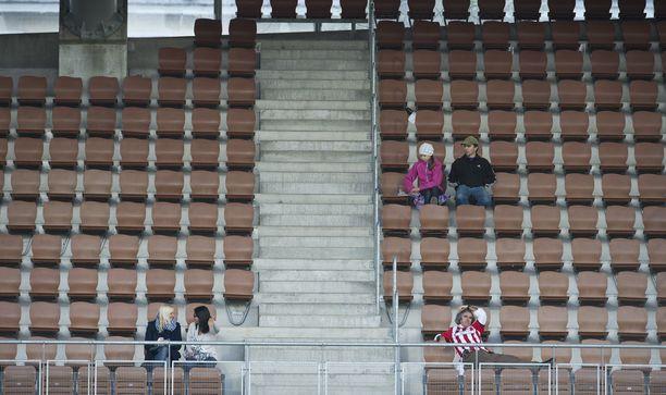 Urheilukatsomoissa on väljää koronarajoitusten aikana. Arkistokuva.