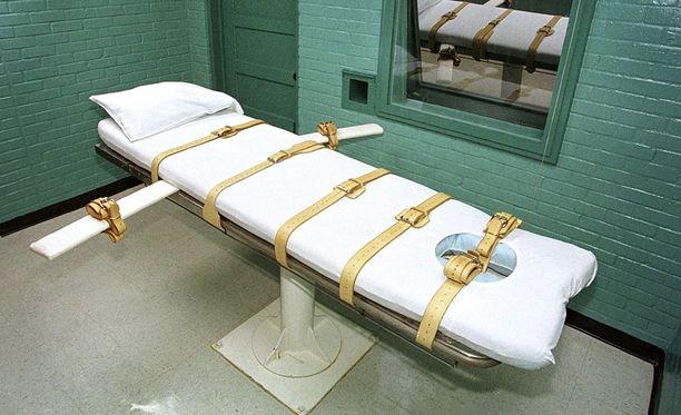 Alabamassa teloitukset pannaan täytäntöön myrkkyruiskeella.