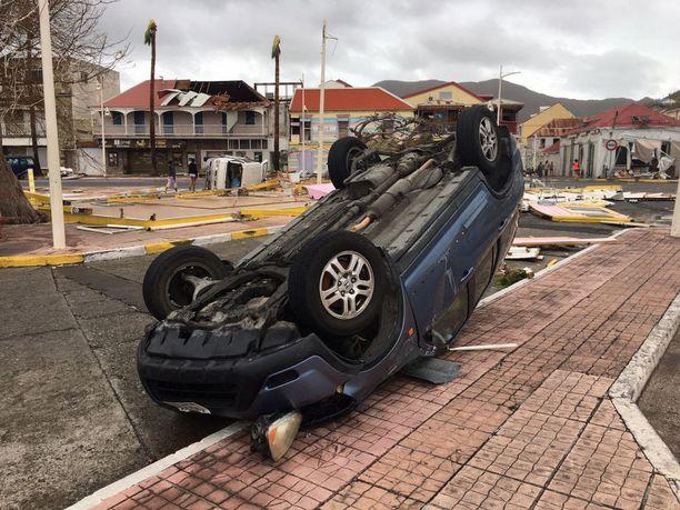 Hurrikaani Irma on kylvänyt laajaa tuhoa Karibianmeren saarilla.