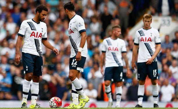 Tottenham-pelaajat tietävät, että lauantaina heitettiin kaksi pistettä kaivoon.