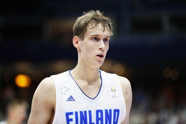 Mikael Jantunen on ollut erinomainen Venäjää vastaan kahdella ensimmäisellä neljänneksellä.
