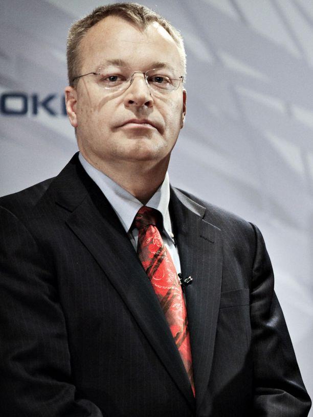 Stephen Elop kommentoi tuloksia ympäripyöreästi.