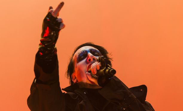 Marilyn Manson ei arvostanut Justin Bieberin kommentteja.