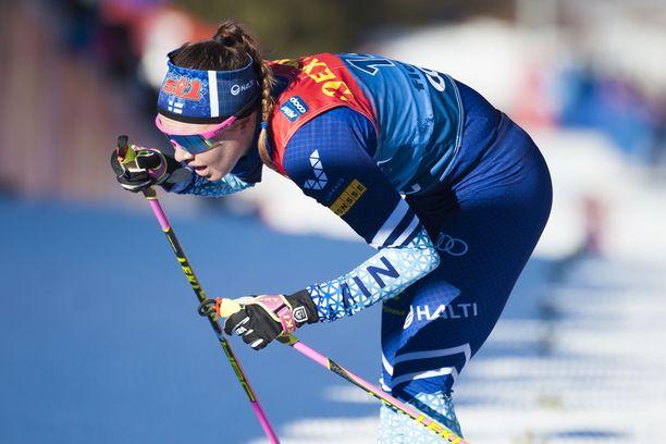 Kerttu Niskanen oli parhaana suomalaisena yhdestoista Tour de Skin lopputuloksissa.