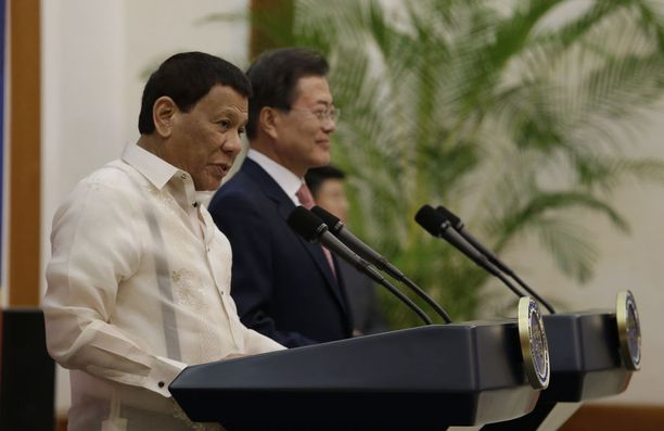 Rodrigo Duterte on ollut Filippiinien presidentti vuodesta 2016.