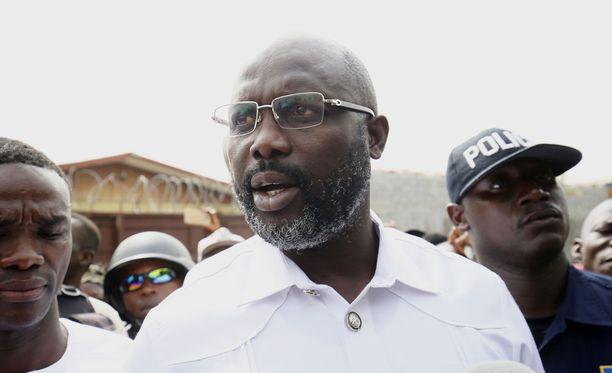 George Weah on Liberian seuraava presidentti.