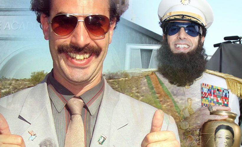 Katso kuvasarja: Hävyttömän Sacha Baron Cohenin pahimmat pilat