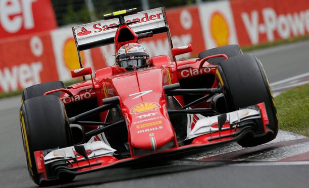 Kimi Räikkönen sai Sky Sportsin perinteisissä arvioissa kutosen.