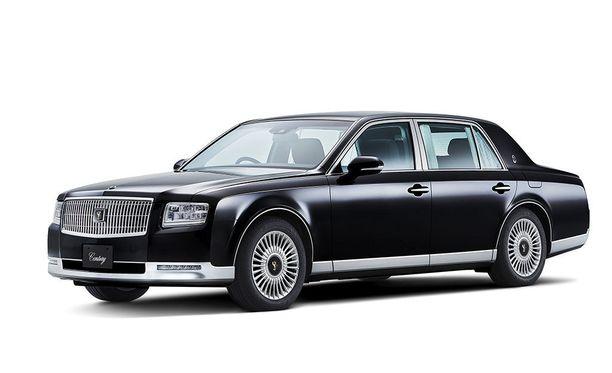 Rolls-Royce, ei vaan Toyotan Japanissa myynnissä oleva edustusmalli.