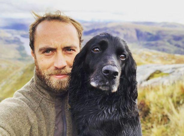 James Middleton rakastaa eläimiä.