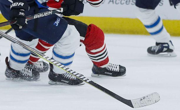 Yksi matkoista suuntautui NHL-otteluun. Kuvituskuva.