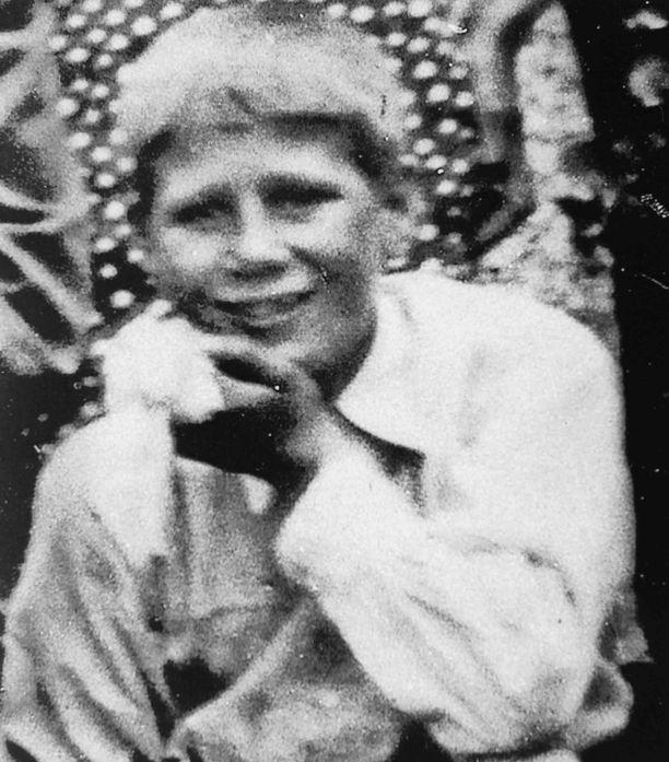 Pentti Heinonen 10-vuotiaana.