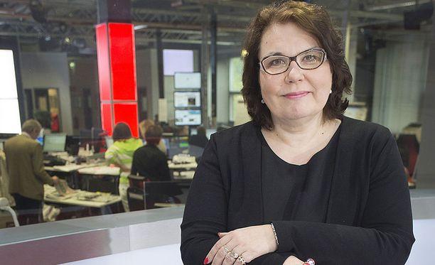 Merja Ylä-Anttila on MTV3-televisiokanavan uutis- ja ajankohtaisohjelmien vastaava päätoimittaja.