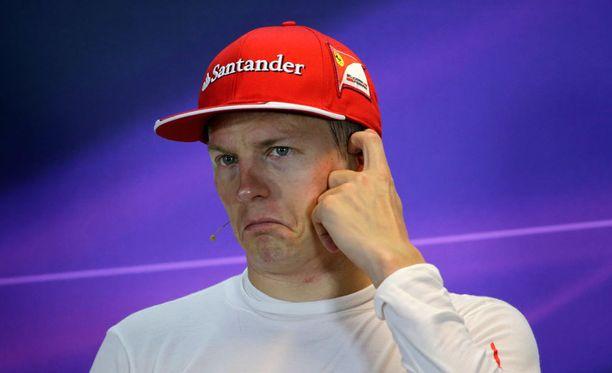 Kimi Räikkönen pääsi toista kertaa tällä kaudella palkintopallille.