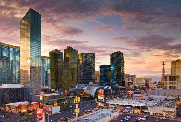 Las Vegasissa järisi kunnolla. Kuvituskuva.