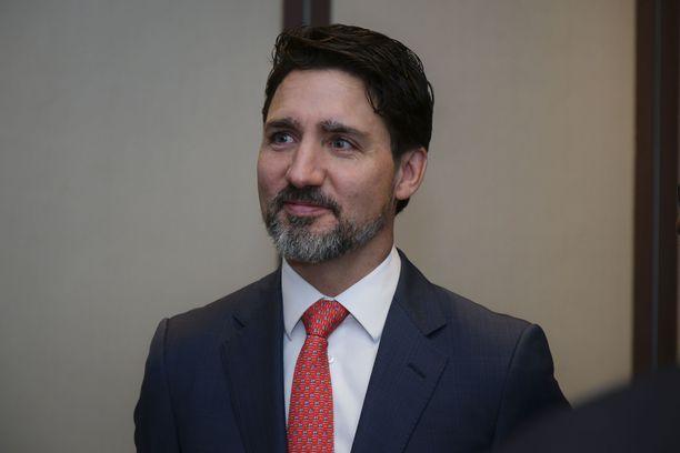 Kanadan pääministeri Justin Trudeau.