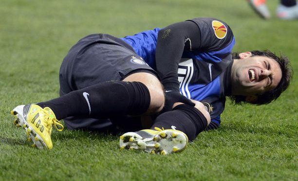 Diego Milito koki kovia.