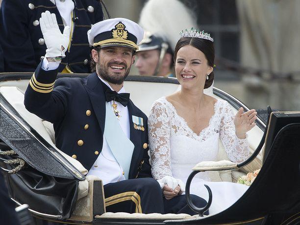 Carl Philipin ja Sofian häitä juhlittiin kaksi vuotta sitten 13. kesäkuuta.