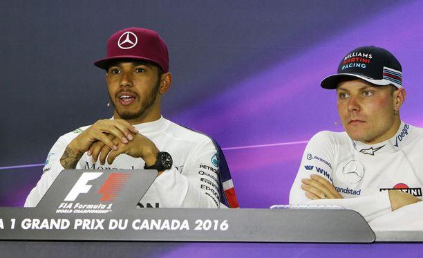 Lewis Hamilton ja Valtteri Bottas ovat monilta osin toistensa vastakohtia.