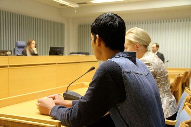 Nuori mies tuomittiin sakkorangaistukseen.