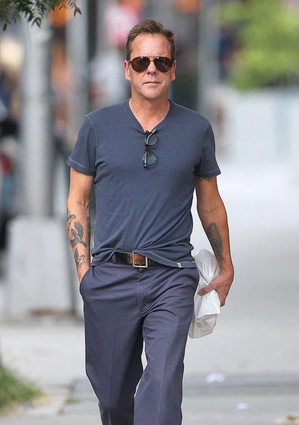 Näyttelijä Kiefer Sutherland