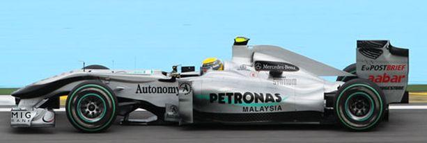 Nico Rosberg oli seitsemäs päättyneen kauden MM-sarjassa.