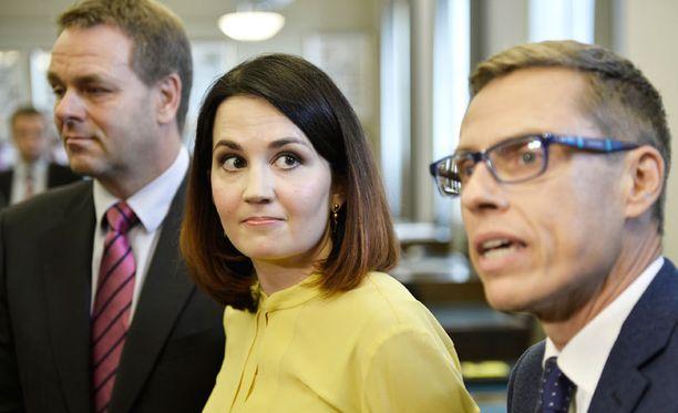Sanni Grahn-Laasonen, 31, on tuore ympäristöministeri.